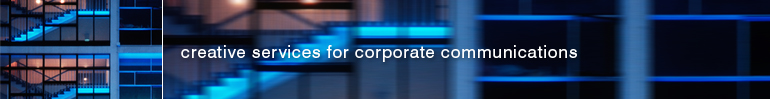 creative services for corporate communications